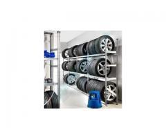EMPRESA DE ESTANTERÍAS para almacenaje de neumáticos