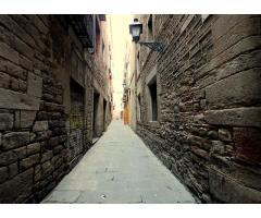 El casco viejo de Barcelona