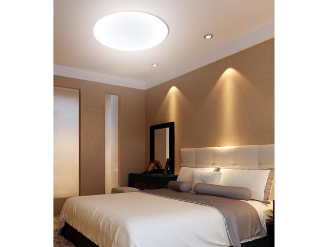 Decorar con iluminación moderna usando plafones led