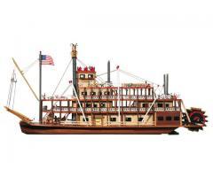 Los navios de vapor en las maquetas de barcos