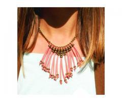 Opta por adquirir collares de moda de bisuteria