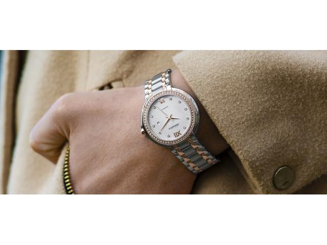 Un montón de opciones para comprar relojes