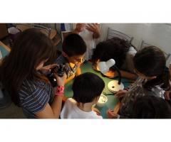 Talleres de astronomía para niños y adolescentes.