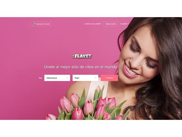 Flayet te invita a su web para conocer gente y encontrar pareja